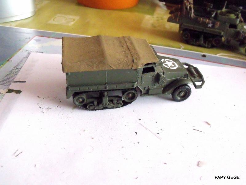 HALF-TRACK M3 TRANSPORT DE TROUPE au 1/50 + M3 AMBULANCE Half_s13
