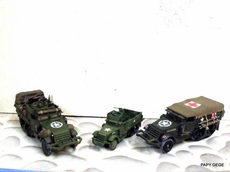 HALF-TRACK M3 TRANSPORT DE TROUPE au 1/50 + M3 AMBULANCE - Page 2 Half_s26