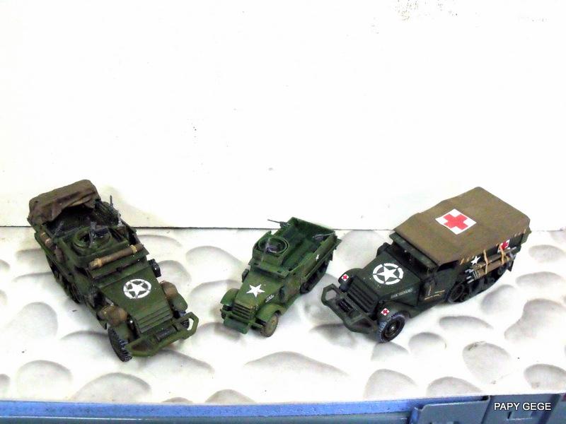 HALF-TRACK M3 TRANSPORT DE TROUPE au 1/50 + M3 AMBULANCE - Page 2 Half_s27