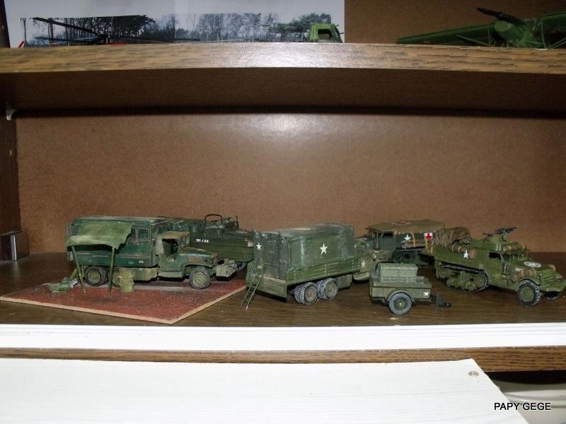 HALF-TRACK M3 TRANSPORT DE TROUPE au 1/50 + M3 AMBULANCE Half_s29