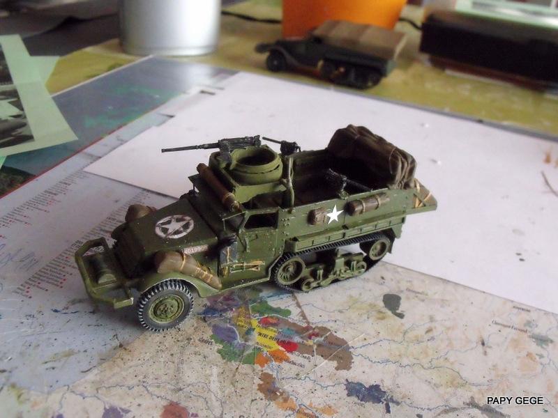 HALF-TRACK M3 TRANSPORT DE TROUPE au 1/50 + M3 AMBULANCE Half_t10