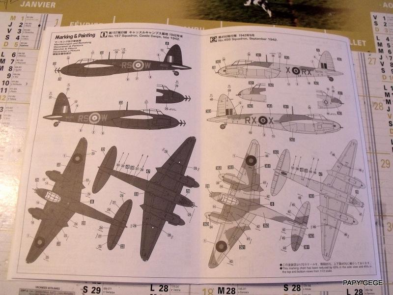 (Hasegawa ) MOSQUITO NF MK.II au 1/72 Mosq_011