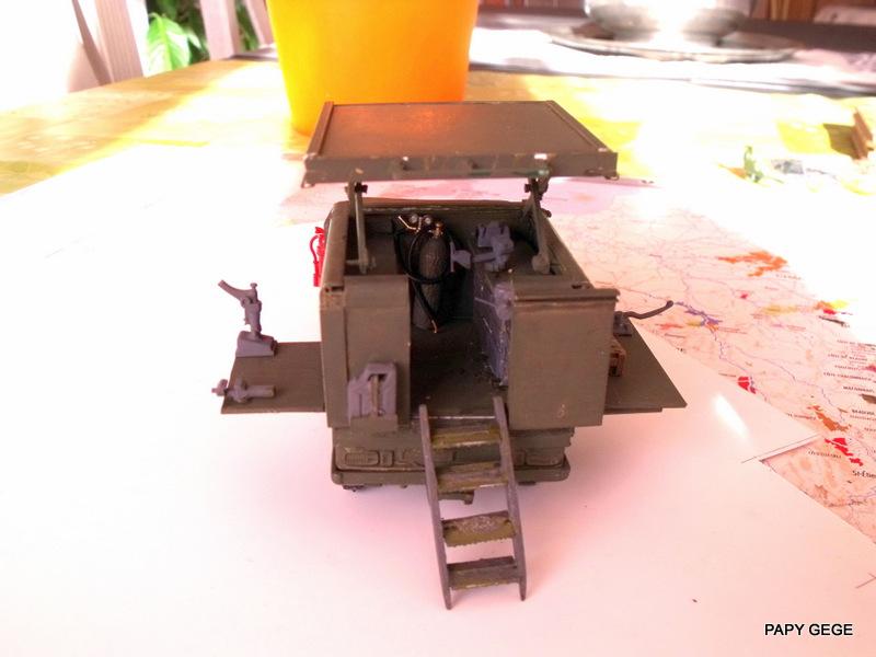 Peugeot P4 Atelier au 1/43 en scratch  P4at3910
