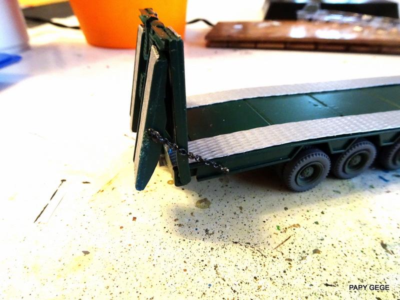 SCANIA PORTE CHAR base Teama au 1/50 Scania86