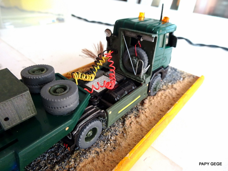 SCANIA PORTE CHAR base Teama au 1/50 Scania91