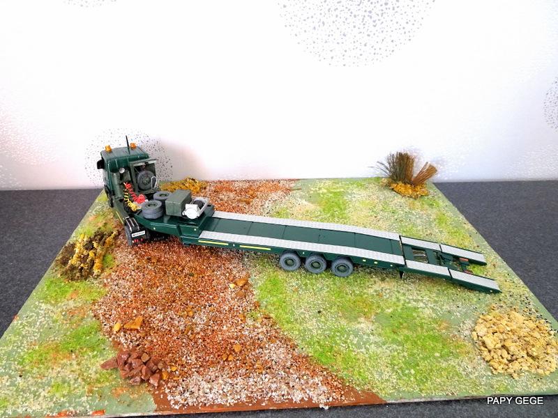 SCANIA PORTE CHAR base Teama au 1/50 Scania99