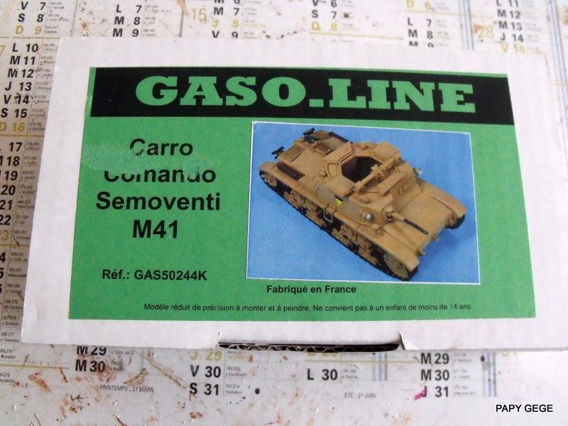 Carro Commando Semoventi M41 au 1/48 Serm4110
