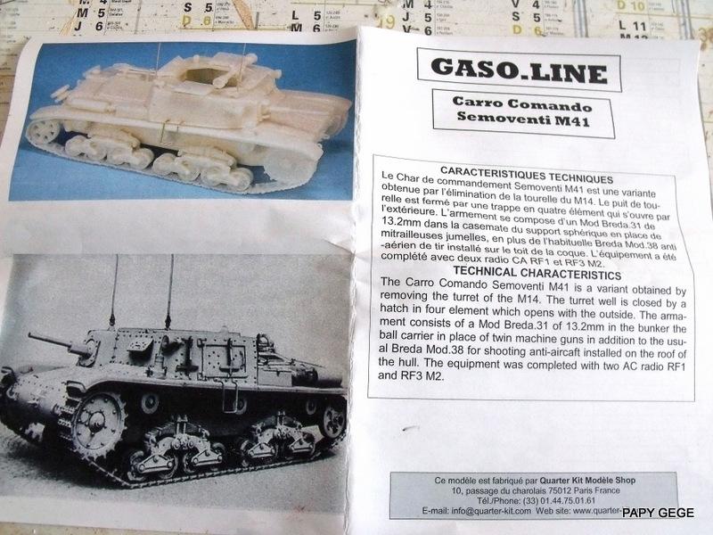 Carro Commando Semoventi M41 au 1/48 Serm4111