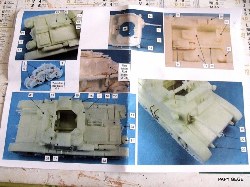Carro Commando Semoventi M41 au 1/48 Serm4114