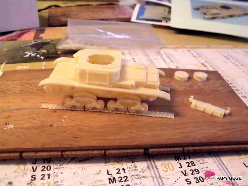 Carro Commando Semoventi M41 au 1/48 Serm4118
