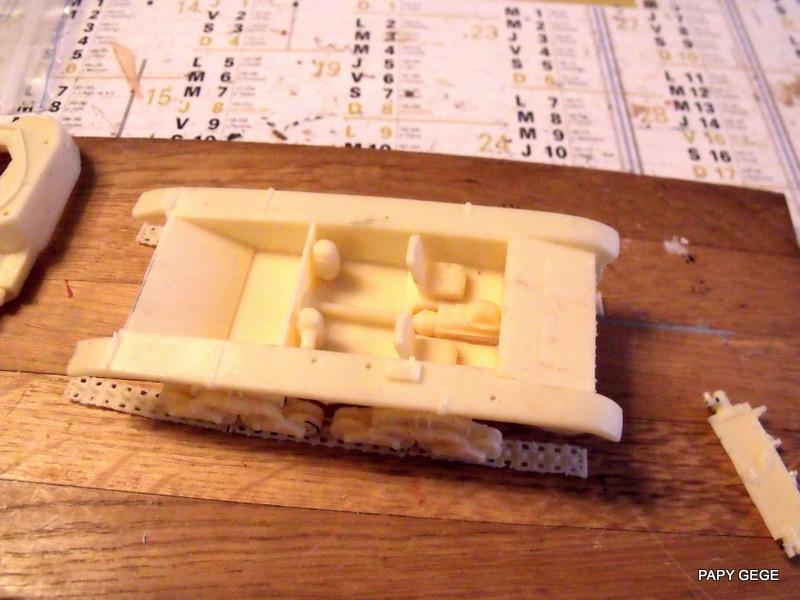 Carro Commando Semoventi M41 au 1/48 Serm4120