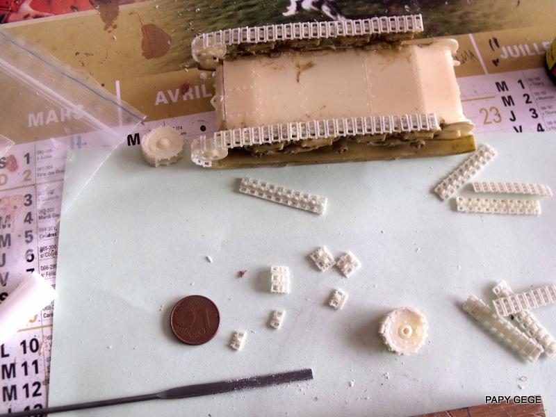 Carro Commando Semoventi M41 au 1/48 Serm4123
