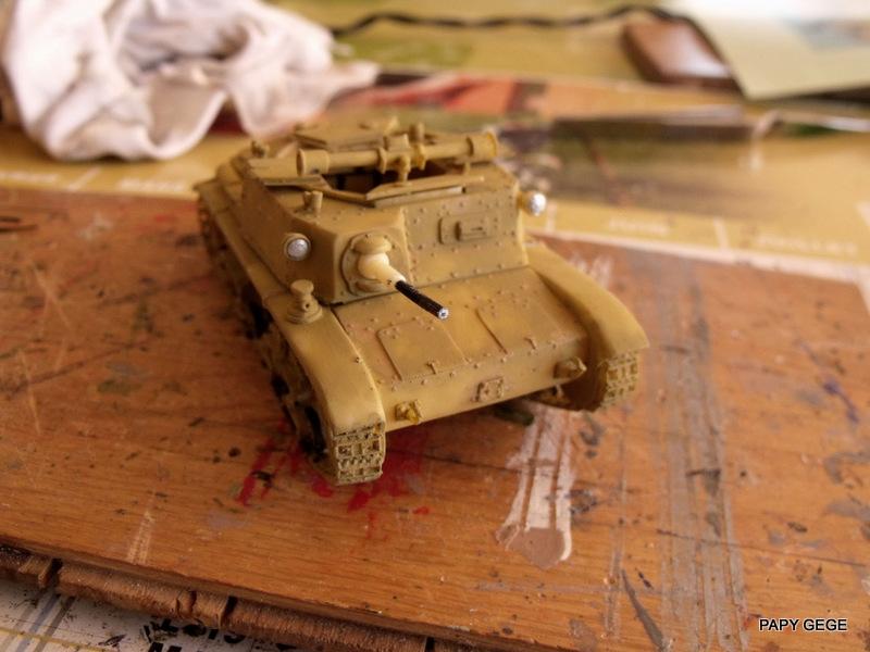 Carro Commando Semoventi M41 au 1/48 Serm4128