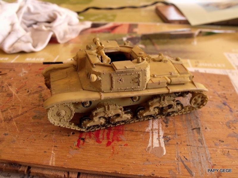 Carro Commando Semoventi M41 au 1/48 Serm4129
