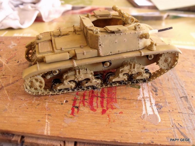 Carro Commando Semoventi M41 au 1/48 Serm4130