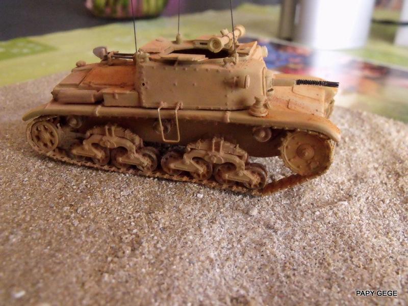 Carro Commando Semoventi M41 au 1/48 Serm4133