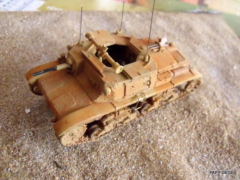 Carro Commando Semoventi M41 au 1/48 Serm4135