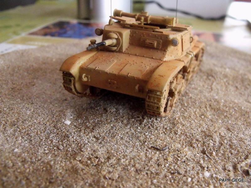Carro Commando Semoventi M41 au 1/48 Serm4136