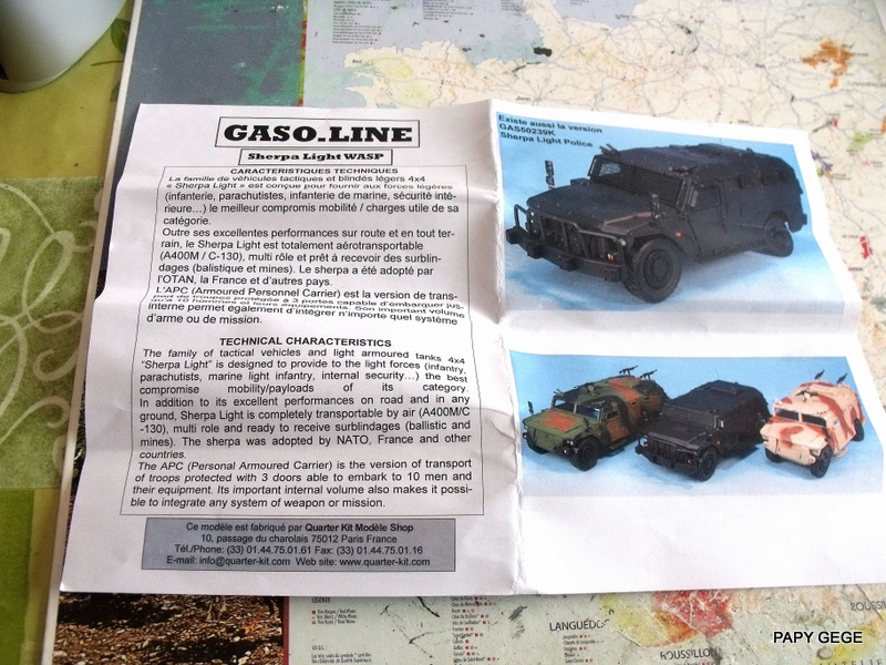 Sherpa Light Wasp 1/48 Gasoline. Sherli10