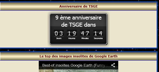 9 ème anniversaire de tsge.  (Info) Presse11