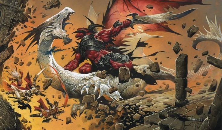 """Ilustraciones de """"Espada y Brujería"""" (NO Conan) 94741010"""