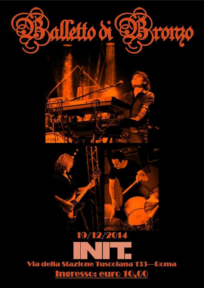 ...arriva l'evento di Dicembre...Balletto di Bronzo Live in Roma 19/12/2014 - INIT 10610611
