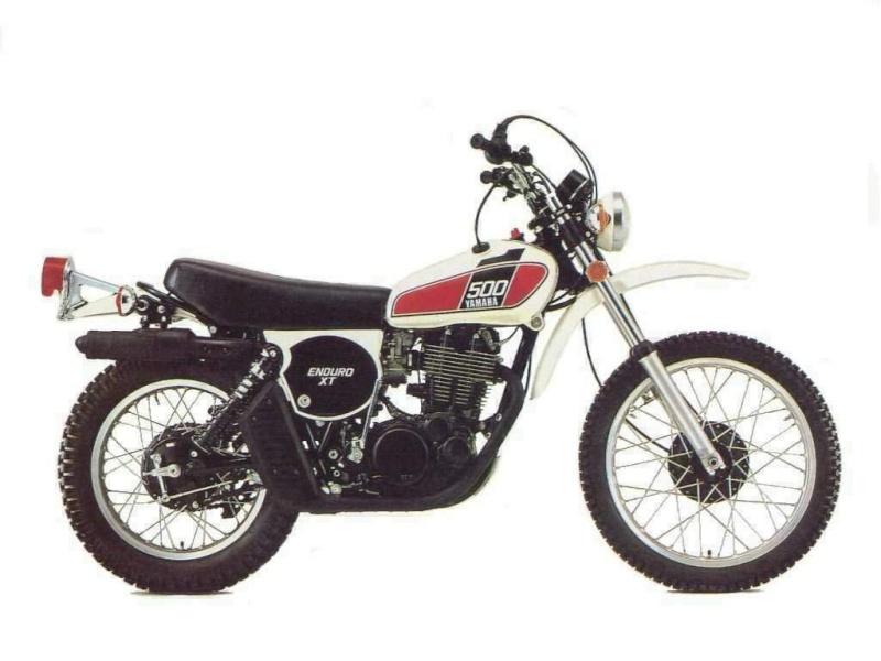 Replica Yamaha 500 XT Yamaha10