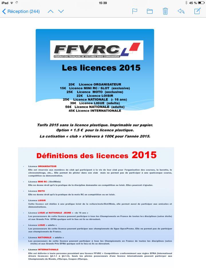 Licence 2015 10806210