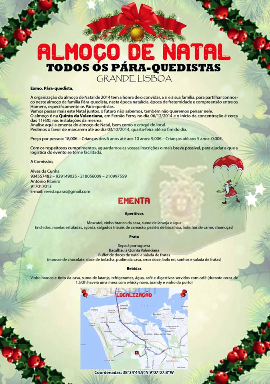 Almoço de Natal - Todos os Pára-Quedistas - Grande Lisboa - 06Dez2014 06dez210