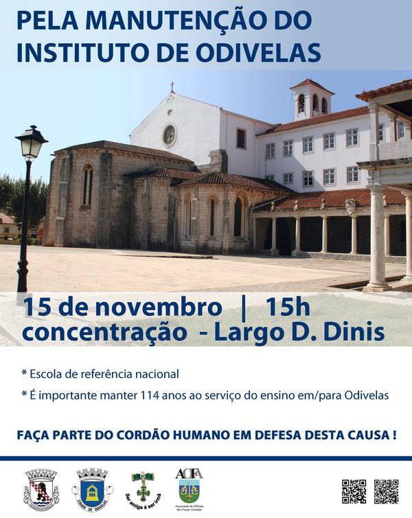 Pela manutenção do Instituto de Odivelas - 15 de Novembro de 2014 Iodive10
