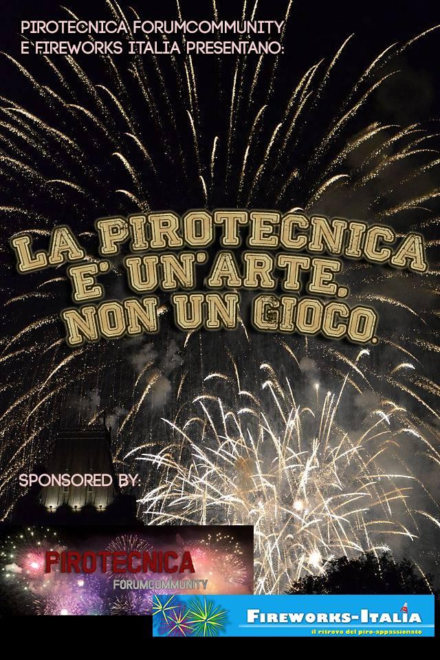 LA PIROTECNICA È UN'ARTE,NON UN GIOCO Locand10