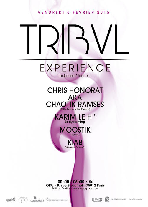 TRIBAL EXPERIENCE 2: OPA - 06/02/2015 w/ Chaotic Ramses Tribal10