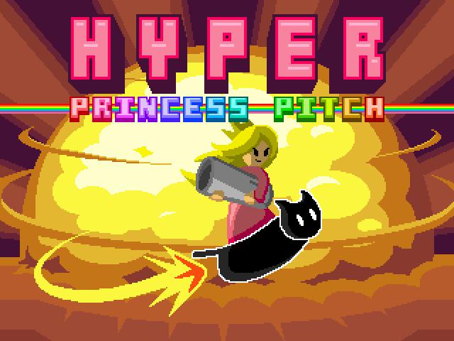 [Jeux Rétrolympiques 2014] Round de chauffe : Hyper Princess Pitch 110