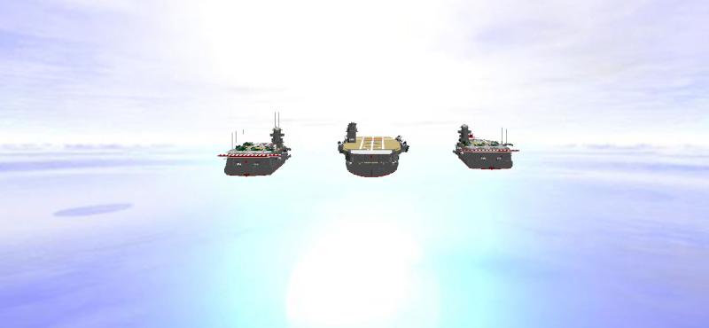 navires reproduits en lego - Page 2 Flotte11
