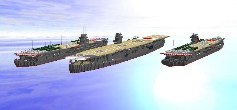 navires reproduits en lego - Page 2 Flotte12