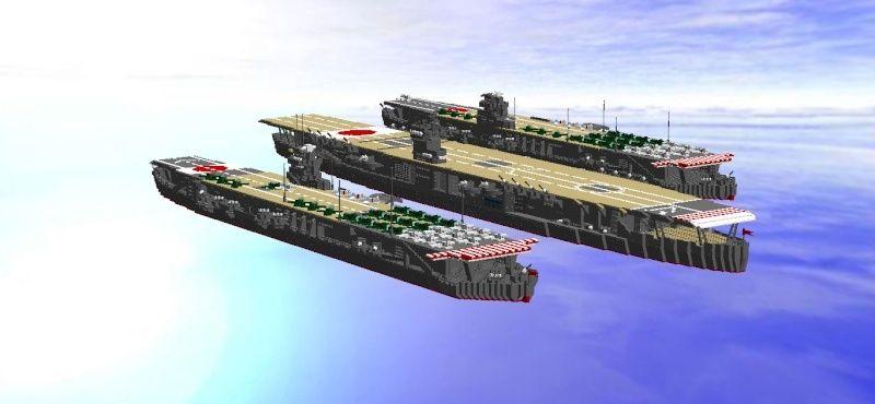 navires reproduits en lego - Page 2 Flotte13