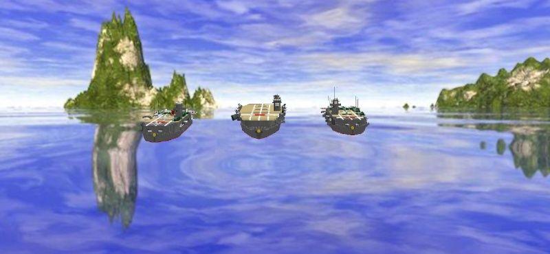 navires reproduits en lego - Page 2 Flotte14