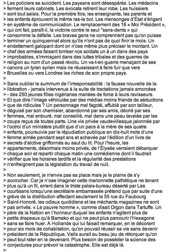 Etat des lieux: Ph. Bouvard Clichy56