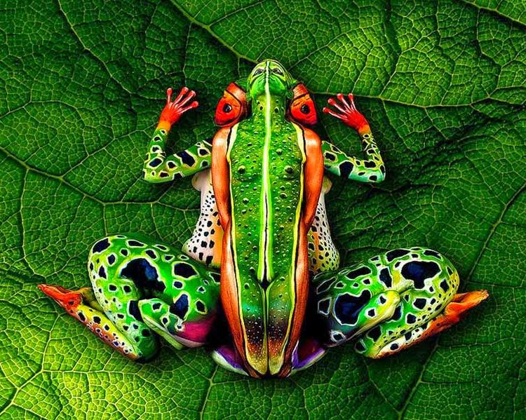 Body painting collectif Bodyfr10