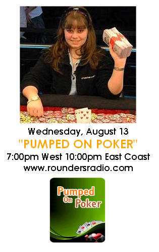 Annettte Abrestad and Freeroll tonight on Rounders Radio Rr_ann10