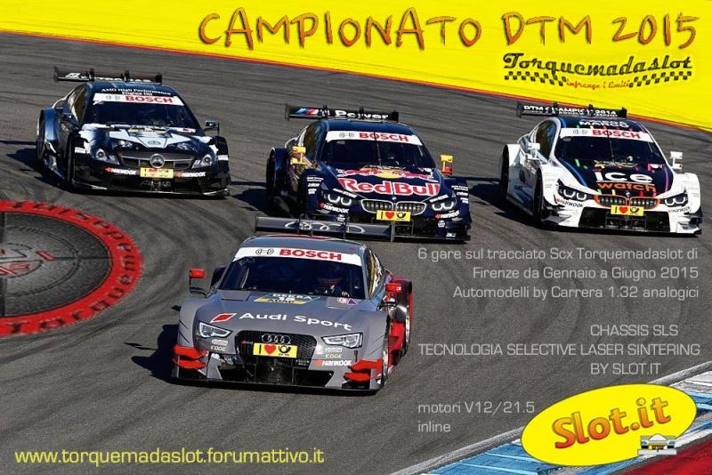 Campionato DTM   3d SLOTIT . TORQUEMADASLOT  2015 Locand12