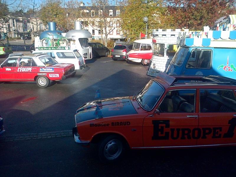 Sortie véhicules publicitaires Saint-10