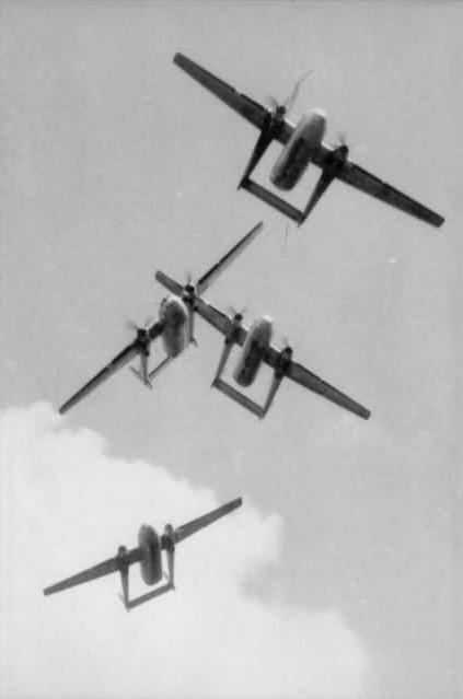 NORATLAS: Quand l'armée de l'Air avait une patrouille acrobatique formée par des avions… de transport 1ta6mv12