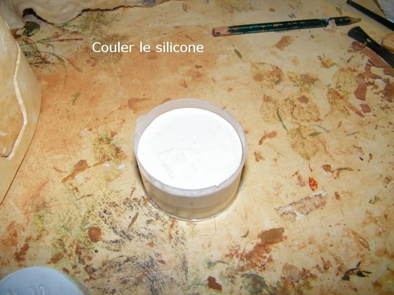 Réalisation d'un moule en silicone 210