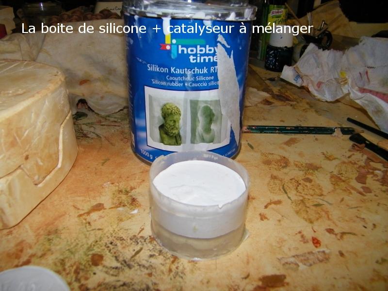 Réalisation d'un moule en silicone 310