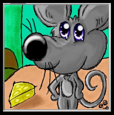 El Dibu de la Chimenea - Arte Demente Raton10