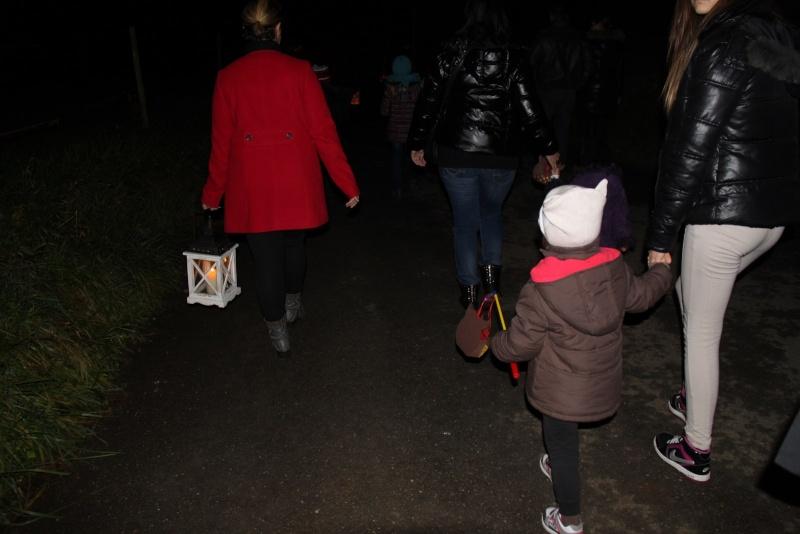 Promenade de la Saint Martin le 11 novembre 2014 à 18h devant le Niedertor de Wangen Img_2515