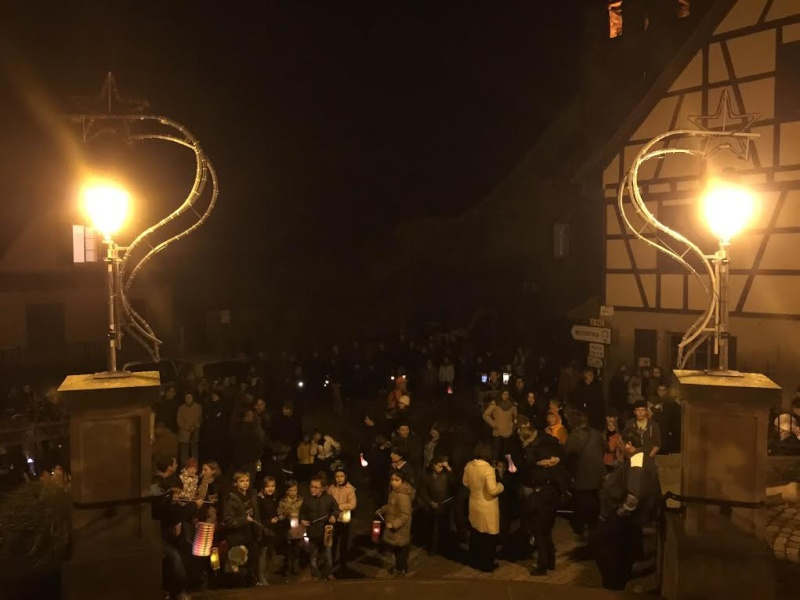 Promenade de la Saint Martin le 11 novembre 2014 à 18h devant le Niedertor de Wangen Unname10