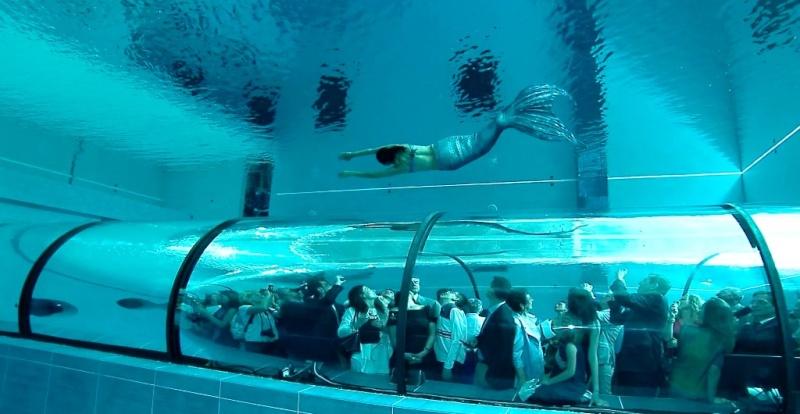 Némo 33 : la piscine la plus profonde du monde, Uccle - Belgique Y-40-p10
