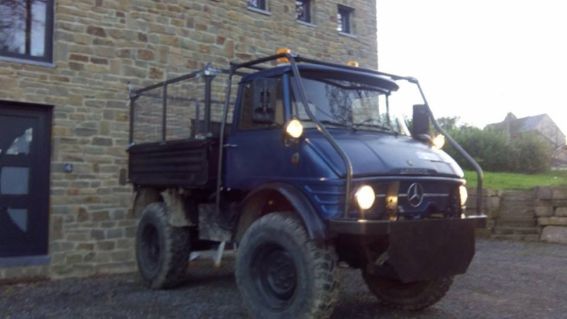Le 406 de 1967 restauré par les jum's liègeois Mog410